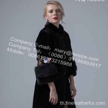 Women Winter Long Australia Shearling Ccoat